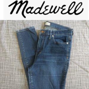 Madewell High Riser Skinnies Jeans